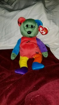 "TY Beanie Babies Retired ""Frankenteddy"" Lowell"