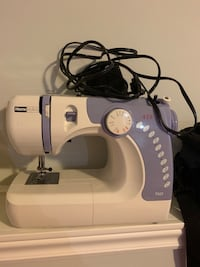 White and blue brother electric sewing machine null, L2G 3N4