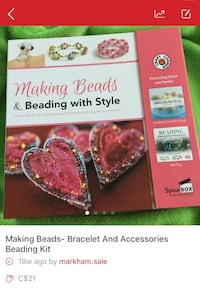 Making Beads and Beading with Style book Markham, L6E 1G4