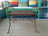 Heavy Iron Rattan Top Table or Seat Sebastian, 32958