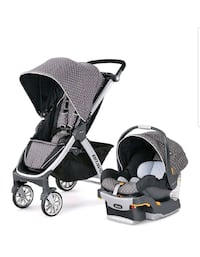 Chicco travel system in lilla
