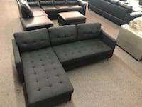 New Couch Sectional. Black. Free Delivery ! Los Angeles
