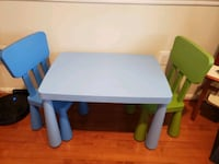 Kids table and chairs- IKEA  Alexandria, 22304
