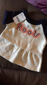Baby roots top 3-6 months Toronto, M2J 4P9