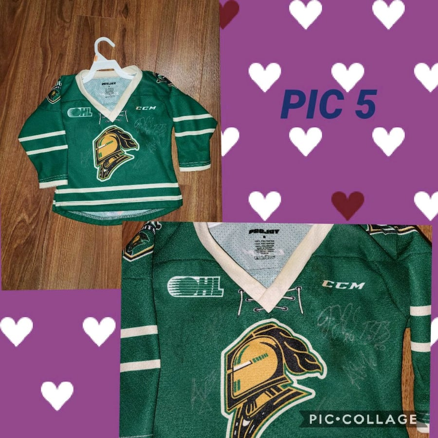 Signed Baby Knight's Jersey