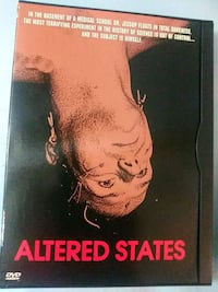 Altered States dvd Baltimore