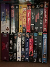 Over 50Movies on VHS