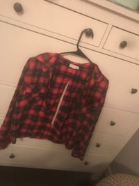 black and red flannel Abbotsford, V3G 1C2