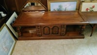 brown wooden coffee table and 2 side tables Kenner, 70065
