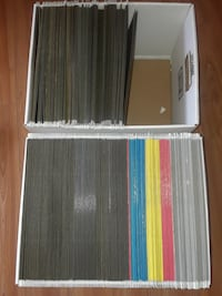 114 HANGING STORAGE FILE FOLDERS TOTAL IN 2 BOXES ALL FOR 55$ TO BE  P Montréal