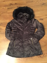 black zip-up parka jacket Mississauga, L5R