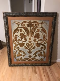 Framed canvas painting Whittier, 90605