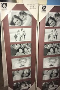 """New Wood picture frames 4x6"""" opening Athens, 35613"""