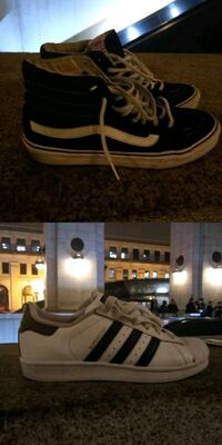 Adidas  size 5 - Vans size 6 - $15 takes both Washington, 20002