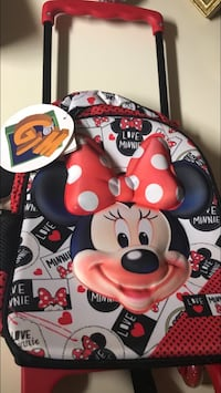 Minnie Mouse travel bag with handle and wheels  New York, 10003