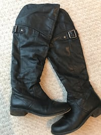 Steve Madden over the knee leather boots  Niagara Falls, L2J
