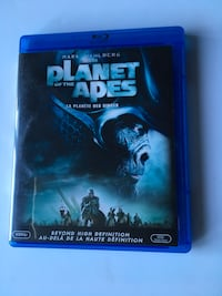 Planet of the Apes Blue-Ray