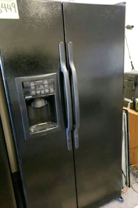 black side by side refrigerator with dispenser Phoenix, 85022