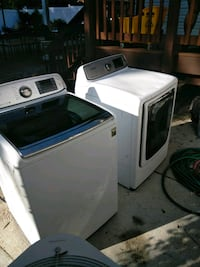 white washer and dryer set Alexandria, 22314