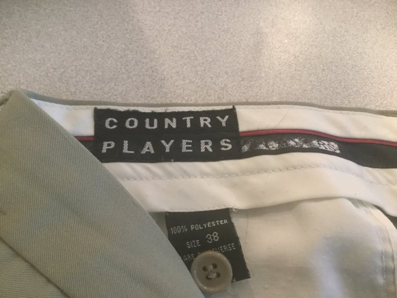 Pants Country Players Size W 38 by L 30 67441e70-d17f-4df6-ae1a-317cbe170b72