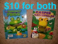 The Hungry Frog and Casper The Caterpillar books