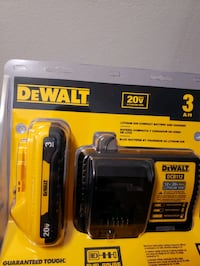 DEWALT 20V MAX 3ah with charger Mississauga, L5A 2Y5