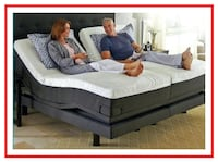 Base Adjustable - Head & Feet Up & 8 Compatible Mattresses Available Washington