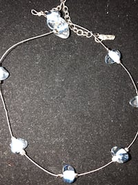 silver and blue beaded necklace Anchorage, 99518