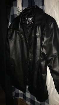 Authentic Men's Leather Armani Exchange Jacket Edmonton, T6J 4E7