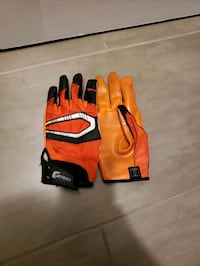 orange and black Football/baseball gloves Milton, L9T 3K5