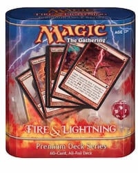 Mtg magic the gathering fire and lightning Los Angeles, 91403
