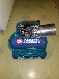 Air compressor with attachments for painting
