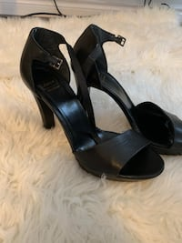 Bata leather stilletos size 8-8.5 Kitchener, N2A 0C5