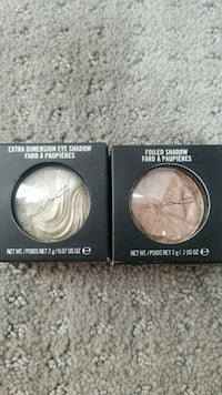MAC limited edition eye shadows $25 ea or both $40 Daly City, 94014