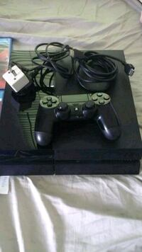 black Sony PS4 console with controller Virginia Beach