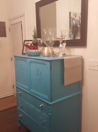 blue wooden cabinet with drawer Charleston, 29401