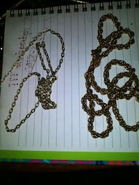 Jewelry blingy necklaces (chains)