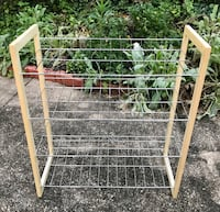 "$18 - Shoe Rack (4 shelves) 27.5"" x 25"" x 11"" Rockville, 20851"