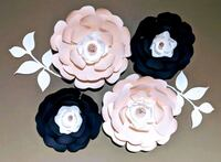 four blue and white floral decors Brampton
