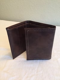 black leather bi-fold wallet Las Vegas, 89148