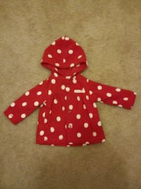 Christmas Polyester hooded button up 0-3 month 573 mi