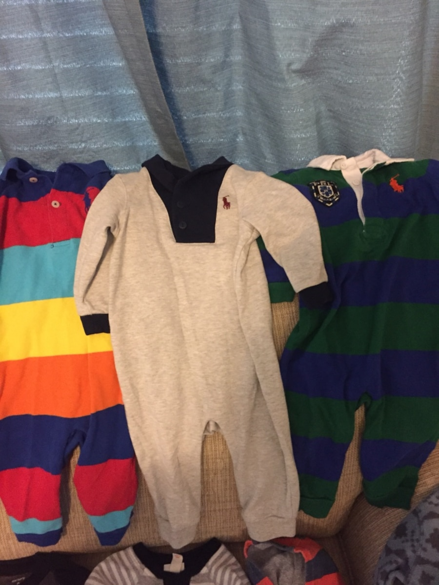 6 9 month baby boy clothing lot name brand in Oklahoma