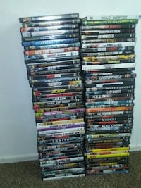 assorted-title DVD case lot Fresno, 93705