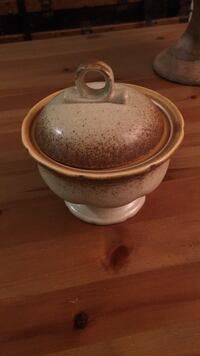 Mikasa sugar bowl from whole wheat collection Guelph, N1G