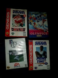 Sega genesis video games