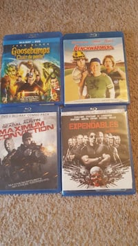 four Blu-ray Disc cases Belleville, K8P 2E3