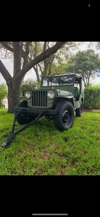 1948 Jeep Willeys Saint Petersburg