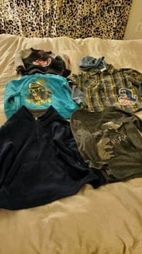 Boys long sleeve Shirts from 3T to 5T,smoke-free and pet_free home Germantown, 20874