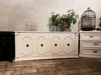 white wooden sideboard with drawers Mississauga, L5G 3N8