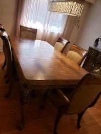 Dining chairs for sale. Also Coffee Table Set